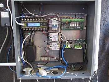 Wiring for full automation and fiber optic data line